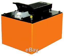 Air Hydraulic Pump 2 Gallon Reservoir T&E Tools A5104