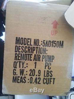 Air Hydraulic Pump Power Pack Unit 10,000 PSI 91.5 in3 Williams 5AD150M 4 Way