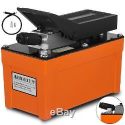 Air Powered Hydraulic Foot Pedal Pump 10,000 PSI Pump Poppet Power