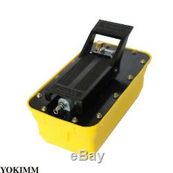 Air Powered Hydraulic Pump 10,000 PSI Foot Operated Pump 0.75-0.95/Lmin New
