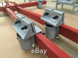 Auto Body Frame Puller Straightener FREE air pump clamps, Tools Cart set