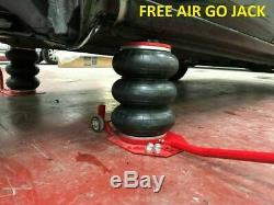 Auto Body Frame Puller Straightener + FREE air pump clamps, Tools Cart set