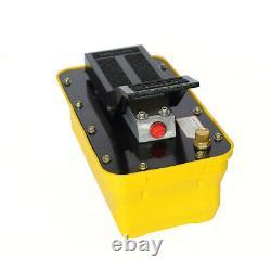 Auto Body Shop Air Hydraulic Foot Pump 10,000 PSI Pedal High Pressure 2.3L