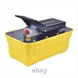 Auto Body shop Air Hydraulic Foot Pump 10000 PSI 2.3L Foot Pedal High Pressure