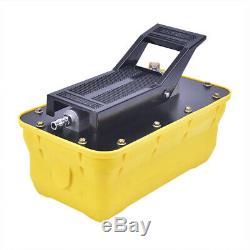 Auto Body shop Air Hydraulic Foot Pump 10000 PSI Foot Pedal High Pressure USA