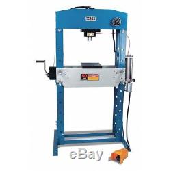 BAILEIGH INDUSTRIAL HSP-50A Hydraulic Press, 50 t, Air Pump, 83 In H G2222398