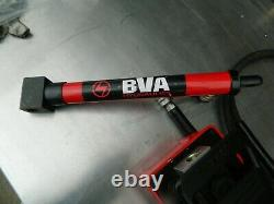BVA Hydraulics PA1500 10K PSI Air Hydraulic Pump with 5 ton cylinder and hose
