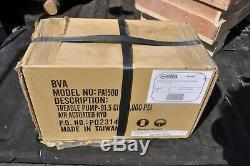 BVA Hydraulics PA1500 10K PSI Air Hydraulic Treadle Pump 91.5 Cubic Inches