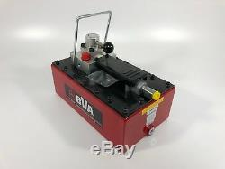 BVA PA3801M Foot Air Pump with 231.9 in³ Usable Oil for Double Acting Cylinder