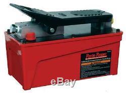Blackhawk Air Powered Foot Pedal Controlled Hydraulic Pump B65425 10,000 PSI