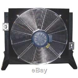 COOL-LINE A105-3-BP45 Forced-Air Bypass Oil Cooler, 45PSI, 3 HP