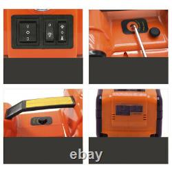 Car Floor Jack Hydraulic Electric Vehicle Lifting With 150 PSI Tire Air Pump