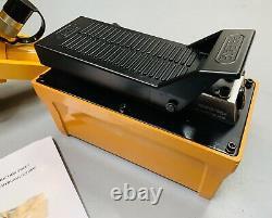 Combi Tire Bead Breaker With Hydraulic Air Foot Pump 6225