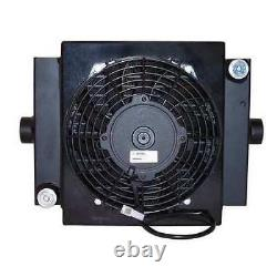 Cool-Line D10-12 Forced Air Oil Cooler, 12 Vdc, 2-30 Gpm, 0.08 Hp