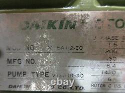 Daikin Hydraulic Oil Motor M15a1-2-30 Pump V15 Air-40 V15a1r-40 Warranty