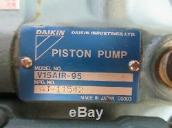 Daikin Mori Seiki Sl1 Hydraulic Motor Pump M8a1x-1-10 V15air-95 Aj-11542