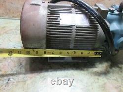 Daikin Mori Seiki Sl1 Hydraulic Oil Motor Pump M8a1x-1-10 V15air-95 V15a1r-95