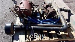 Davey Pto Truck Air Compressor Hydraulic Pump Ingersoll Rand