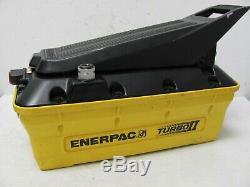 ENERPAC 82C-0AP Turbo II Air Hydraulic Pump, Air Powered
