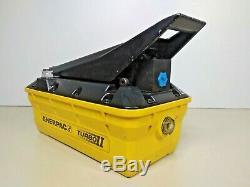 ENERPAC PATG1102N Turbo II Air Hydraulic Pump Pressure 10,000psi / 700 bar max