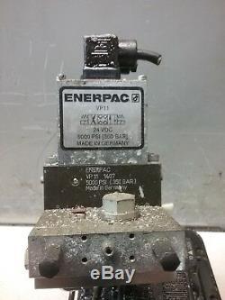 ENERPAC Pump, Air/Hyd, 5000 PSI PACG5002SB 350 BAR MAX