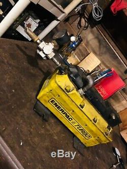 ENERPAC TURBO HYDRAULIC PUMP, AIR POWERED PEDALy