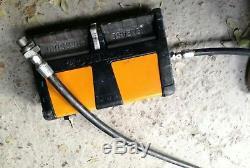 ENERPAC XA11 Hydraulic Pump Air Powered 10000 PSI capacity FAST SHIPPING