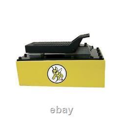 ESCO Yellow Jackit 5 Quart Metal Reservoir Air Hydraulic Pump 10877
