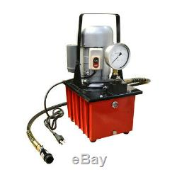 Electric Air Pumper Single Acting Hydraulic Hand Pump 8L Oil Power 10,000 PSI