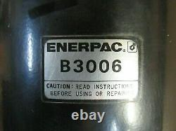 Enerpac Air Hydraulic Pump Booster B3006 Used