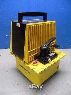 Enerpac Air Hydraulic Pump Jack 10000 PSI Single Acting 3-Way 2 Position PAM1022
