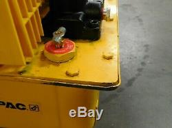 Enerpac Air Hydraulic Pump Jack 3-Way 2 Position 10000PSI 2 Gal Oil Cap PAM-1022