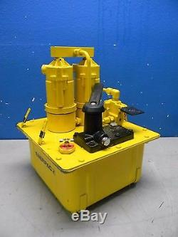 Enerpac Air Hydraulic Single Acting Pump and Jack PAM1022