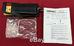 Enerpac Air Over Hydraulic Pump 025399 10000 Psi