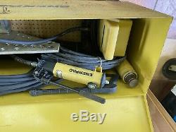 Enerpac Hydraulic Pipe Bender Air Powered Hydraulic Pump