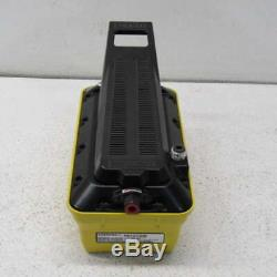 Enerpac PATG-1102N 10000 PSI Turbo II Air Hydraulic Pump Hand/Foot Operated