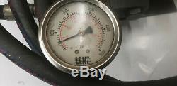 Enerpac PA-133 PA133 Air 10K Hydraulic Pump withhose & 5k psi Gauge. Lot#1 shlf s1