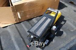 Enerpac Pa-133 Air Driven Hydraulic Foot Pump 10,000 3/8 Npt New USA Made