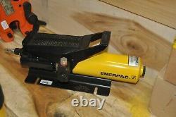 Enerpac Pa-133 Air Driven Hydraulic Foot Pump 10,000 3/8 Npt USA Made Mint