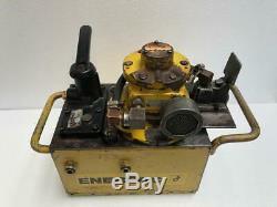 Enerpac Pam9208n Pneumatic Air Hydraulic Pump/power Pack 700 Bar/10,000 Psi