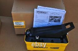 Enerpac Patg-1102n Turbo II Hydraulic Pump 2 Liter Res 3 Way Valve Treadle New