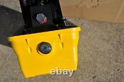 Enerpac Patg-1102n Turboii Hydraulic Pump 3way Valve Treadle Parker 82c-0ap USA
