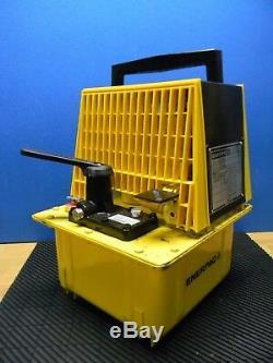 Enerpac Single Acting Cylinder Air Hydraulic Pump Twin Motor PAM-1022