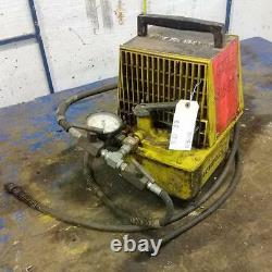 Enerpac Single-acting Air Hydraulic Pump Pam-1022 / Be7c Jch