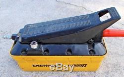 Enerpac Turbo II PATG1102N Air Hyrdraulic Foot Pump! FREE SHIPPING