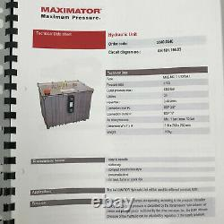 Enerpac YPA2688 Hi Pressure Air Driven Hydraulic Pump with Maximator Unit 700 BAR