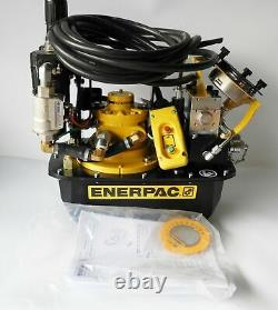 Enerpac ZA4204TX-Q Two Speed, Air Hydraulic Torque Wrench Pump, 10,000 psi