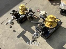 Enerpac Za4208mx Air Hydraulic Pump Lot Of 2