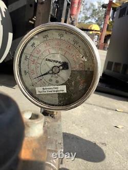 Enerpac Za4408mx Air Hydraulic Pump Lot Of 2