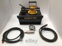 Enerpac Za4420mx Air Operated Hydraulic Pump 4-way Valve With Accessories